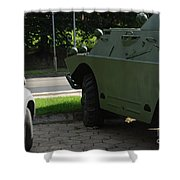 Vehicle Of The Future Shower Curtain