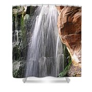 Veil Of Water Shower Curtain