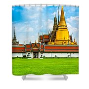 Wat Phra Kaew - Bangkok Shower Curtain