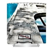 Way The Wind Blows - Four Season Hotel Budapest Hungary Shower Curtain