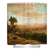 Wind River Country Shower Curtain