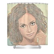 0002 Courtney Shower Curtain