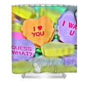 0004 Valentine Series Shower Curtain