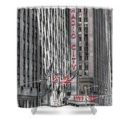 0007 Radio City Music Hall Shower Curtain