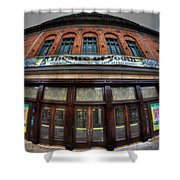 001 Allendale Theatre  Shower Curtain