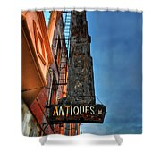 001 Antiques Shower Curtain