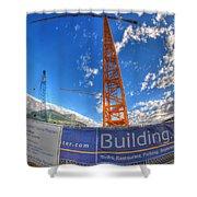 001 Building Buffalo  Shower Curtain