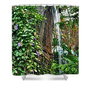 001 Falling Waters For The Cactus Lover In You Buffalo Botanical Gardens Series Shower Curtain