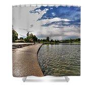 001 Hoyt Lake Shower Curtain