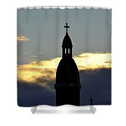 001 Morning Glory Shower Curtain