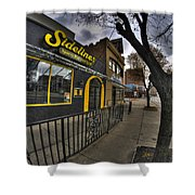 001 Sidelines Sports Bar And Grill Shower Curtain