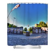 001 We Will Not Forget At The Erie Basin Marina Shower Curtain
