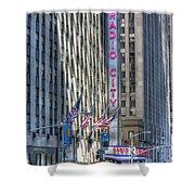 0010 Radio City Music Hall Shower Curtain