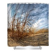 0011 Presque Isle State Park Series Shower Curtain