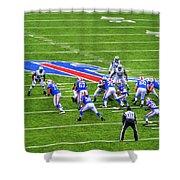 0013 Buffalo Bills Vs Jets 30dec12 Shower Curtain
