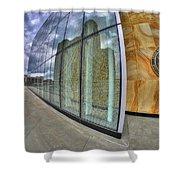 0013 Court House Shower Curtain