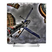0013 Delaware And West Chippewa  Shower Curtain