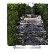 0015 Glen Falls Of Williamsville New York Series  Shower Curtain
