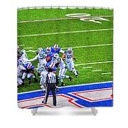 0016  Buffalo Bills Vs Jets 30dec12 Shower Curtain