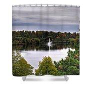 0018 Hoyt Lake Autumn 2013 Shower Curtain