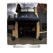 0018 Soho Burger Bar Shower Curtain