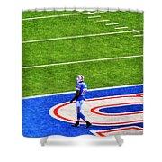 002 Buffalo Bills Vs Jets 30dec12 Shower Curtain