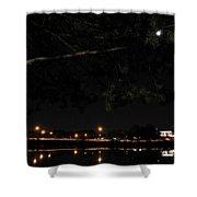 002 Japanese Garden Autumn Nights Shower Curtain