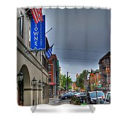 002 Towne Restaurant  Shower Curtain