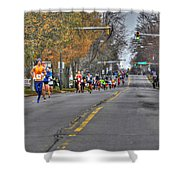 002 Turkey Trot  2014 Shower Curtain