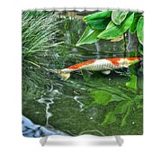 002 Within The Rain Forest Buffalo Botanical Gardens Series Shower Curtain