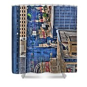 0022 Visual Highs Of The Queen City Shower Curtain