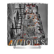 003 Antiques  Shower Curtain