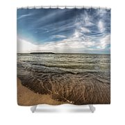 003 Presque Isle State Park Series Shower Curtain