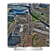 003 Visual Highs Of The Queen City Shower Curtain