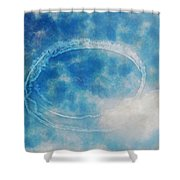 0036 - Air Show - Traveling Pigments Hp Shower Curtain