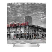 0038 Milwaukee Public Market Shower Curtain