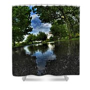 004 After The Rain At Hoyt Lake Shower Curtain