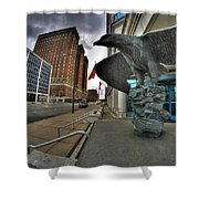 004 Court House Delaware Ave Shower Curtain