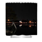 004 Japanese Garden Autumn Nights   Shower Curtain