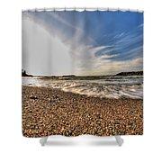 004 Presque Isle State Park Series Shower Curtain