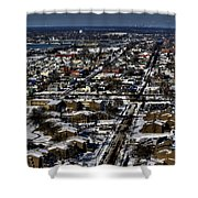 0042 After The Nov 2014 Storm Buffalo Ny Shower Curtain