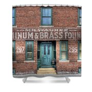 0044 Foundry Building Shower Curtain