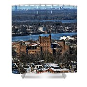 0048 After The Nov 2014 Storm Buffalo Ny Shower Curtain