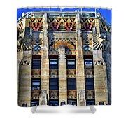 0049 Art Deco City Hall Shower Curtain