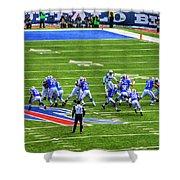 005 Buffalo Bills Vs Jets 30dec12 Shower Curtain