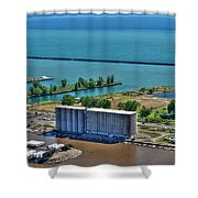 005 Visual Highs Of The Queen City Shower Curtain