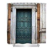 0053 Roman Door 2 Shower Curtain