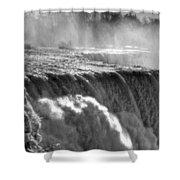 005a Niagara Falls Winter Wonderland Series Shower Curtain