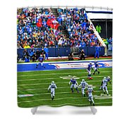 006 Buffalo Bills Vs Jets 30dec12 Shower Curtain