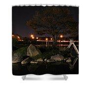 006 Japanese Garden Autumn Nights   Shower Curtain